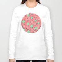 polka dot Long Sleeve T-shirts featuring polka dot by Jenni Freidman
