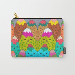 Mountain Friends II Carry-All Pouch