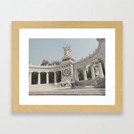 Hemiciclo a Juarez Framed Art Print