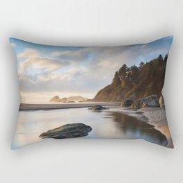 Setting Sun At Moonstone Rectangular Pillow
