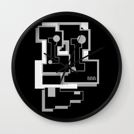 BiT BLACK SiDE ver. (Original Characters Art by AKIRA) Wall Clock