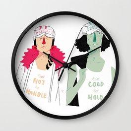 Hot N Cold Wall Clock