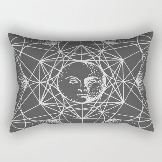Gnostic Shadow Rectangular Pillow