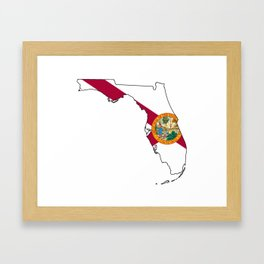 Florida Love! Framed Art Print