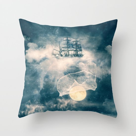 I'll bring you the MOON Throw Pillow