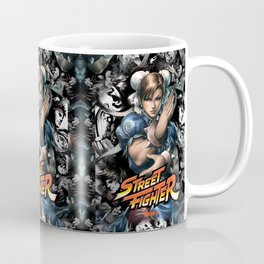 Street Fighter Chun Li Coffee Mug