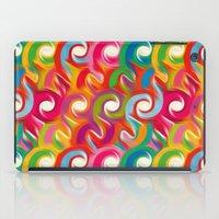 ikat iPad Cases featuring Ikat by Helene Michau