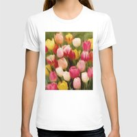 tulips T-shirts featuring *Tulips* by Mr and Mrs Quirynen