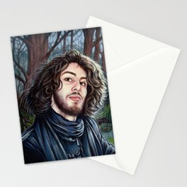 Portrait - Fabio Cappello Stationery Cards