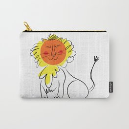 Jolly Lion Carry-All Pouch