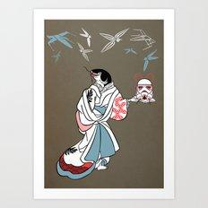 Catfished Art Print