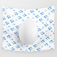 egg Wall Tapestries featuring Egg by Jori