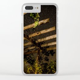 The Night Sky in Costa Rica Clear iPhone Case