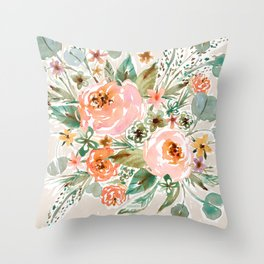 SMELLS LIKE PACIFICA BREEZES Throw Pillow