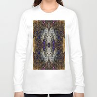 ornate Long Sleeve T-shirts featuring Ornate by RingWaveArt