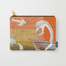 the white dragon Carry-All Pouch