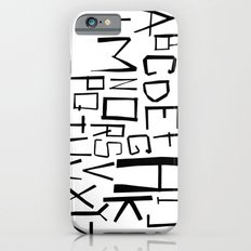 Alphabet #2 Slim Case iPhone 6s