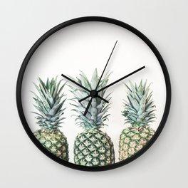 3 P's  Wall Clock