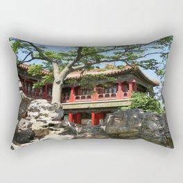 Forbidden City Gardens House  Rectangular Pillow