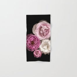 Purple, Pink, and White Roses Hand & Bath Towel