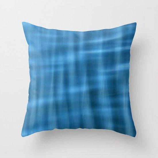 Water Pattern #2 Throw Pillow