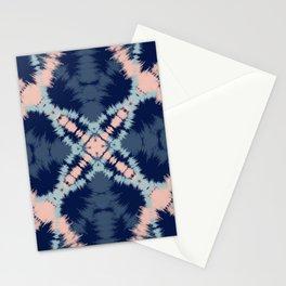 Blue & Blush Tie Dye Stationery Cards