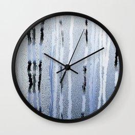 STRIPES BLUE Wall Clock
