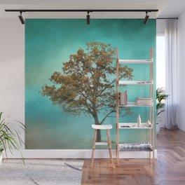 Santa Fe Cotton Field Tree - Landscape Wall Mural