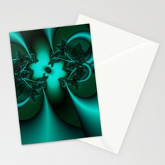 Teal Fantasy Stationery Cards