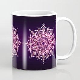 Violet Glowing Spirit Mandala Coffee Mug