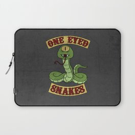One Eyed Snakes Laptop Sleeve