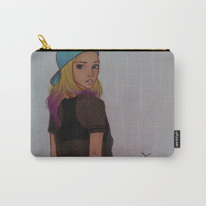 Sk8er Girl Carry-All Pouch
