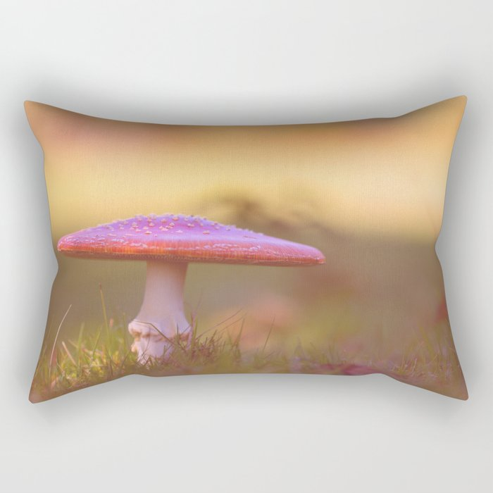 Fly agaric mushroom Rectangular Pillow