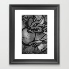 Garuda Dog Framed Art Print