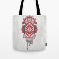 ethnic Tote Bags featuring Ethnic by sophtunes