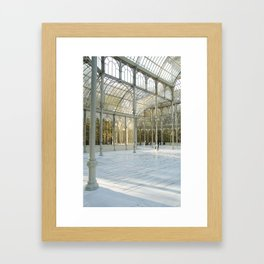 White Cristal Palace Framed Art Print