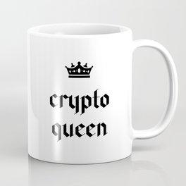 Crypto Queen Gothic Coffee Mug