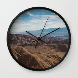 Joshua Tree National Park XXVIII Wall Clock