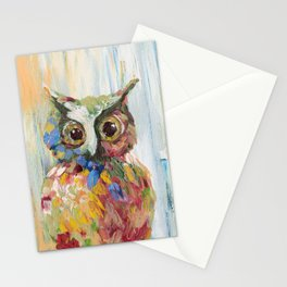 The Lonely Owl Stationery Cards