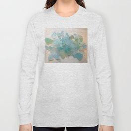 Ocean Hue Sea Glass Long Sleeve T-shirt