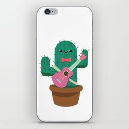 The friendly prickly cactus iPhone Skin