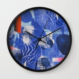 Gyotaku Wall Clock