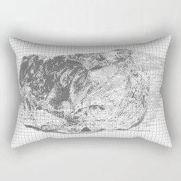 silicon dioxide (SiO2) Rectangular Pillow