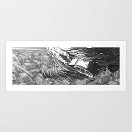 Caravane #1 Art Print