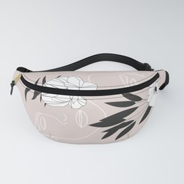 Two Faces Floral Fanny Pack