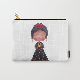 Frida - Watercolor Carry-All Pouch