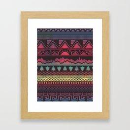 Autunno   Tribal Framed Art Print