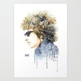 BobDylan Art Print