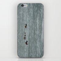 otters iPhone & iPod Skins featuring USA - ALASKA - Three otters by Shana's Shop