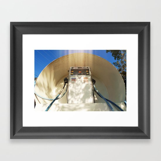 Worship Me NOW! Framed Art Print